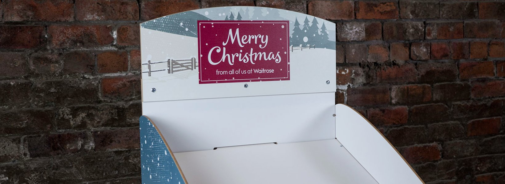Merry Christmas Card Stand]