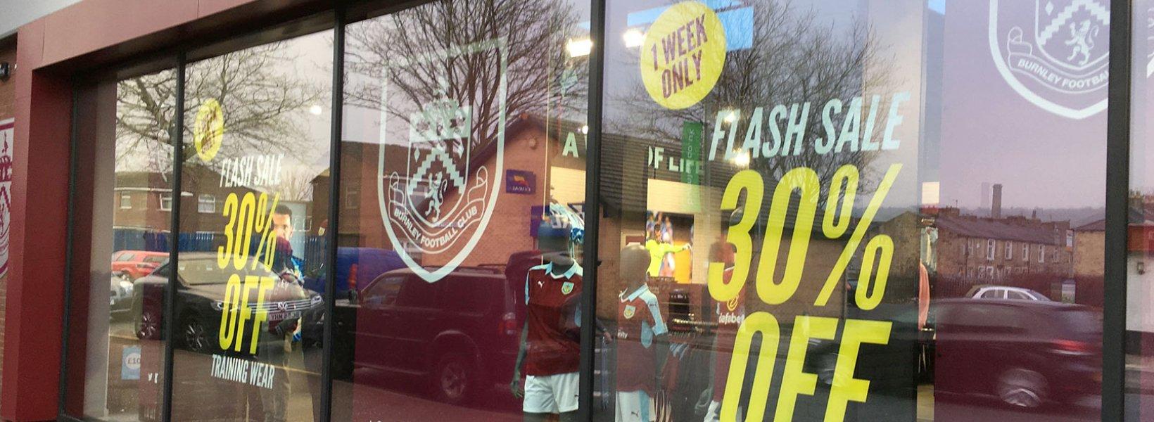 Burnley Football Club Flash Sale