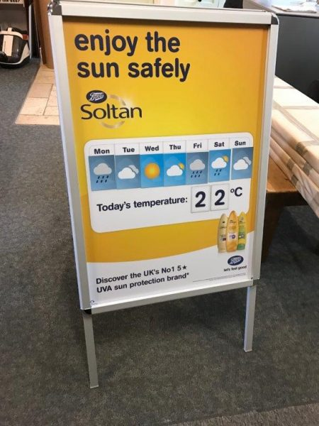 Interactive Weather Forecast Display.