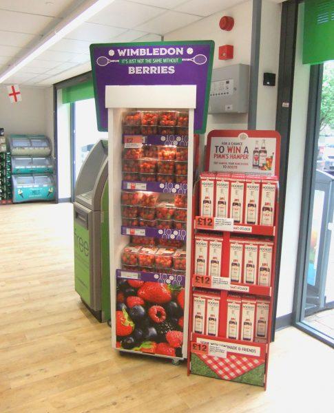 Wimbledon promotion at Asda